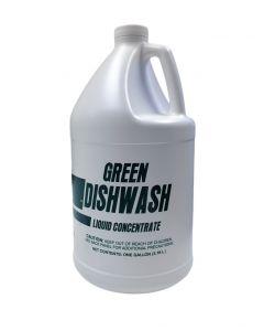 Generic Green Dishwash Soap (Detergent) 1 Gallon Bottle - 1 case (4 bottle)