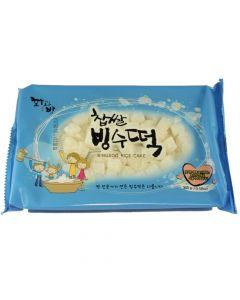 Bingsu White Mochi / Sweet Rice Cake 10.58 oz Bag - 1 case (24 bag)