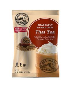 Big Train Dragonfly Thai Tea Powder Mix 3.5 lb Bag - 1 bag