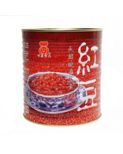 Ohsweet Sweet Red Bean 6.6 lb Can - 1 can