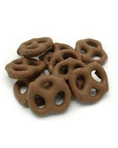 Generic Mini Chocolate Pretzels 15 lb Bag - 1 case (1 bag)