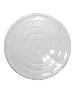 Karat 48 oz Clear Dome Paper Short Bucket lid - 1 case (270 piece)