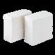 Karat White 1-Ply Tall Fold Napkin - 1 case (10000 piece)
