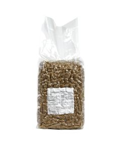 "Ohsweet Black Tapioca Pearl / Boba , Regular (1/4"") 6 lb Bag - 1 Case (6 bags)"