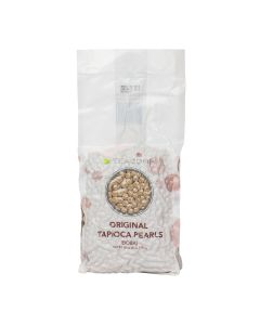 "Tea Zone A1000 Tapioca Boba Pearl, Regular 1/4 "" 6 lb Bag - 1 case (6 bag)"