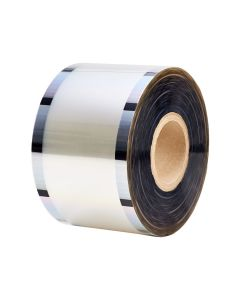 Karat PP Plastic 95 mm Clear Seal Film Roll - 1 roll