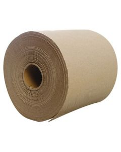 HW 600' Natural Brown Kraft Roll Paper Towel - 1 case (6 roll)