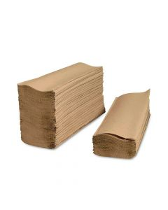 THE ONE Kraft Multi Fold Paper Towel - 1 case (4000 piece)