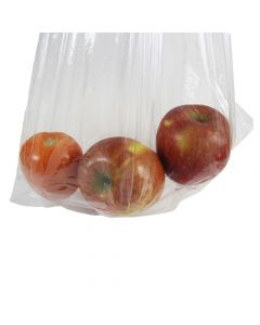 "Generic 14"" x 20"" Clear LDPE Plastic Bag, 1.0Mil - 1 case (1000 piece)"