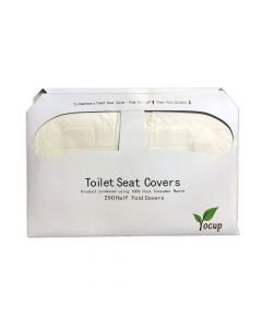 Generic 1/2 Fold Toilet Seat Cover - 1 case (5000 piece, 25/200)