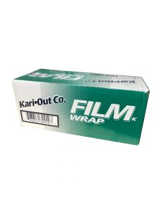 "Kari-Out 12"" x 2000' All Purpose Foodservice Film Wrap - 1 case (1 roll)"
