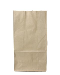 Generic 16# Kraft Paper Grocery Bag  (7.62 x 4.62 x 15.87 in) - 1 case (500 piece)