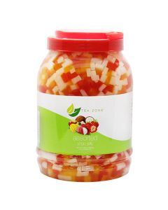 Tea Zone Rainbow Jelly 8.5 lb Jar - 1 jar