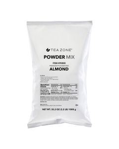 Tea Zone Almond Powder (Made in USA) 2.2 lb Bag - 1 bag