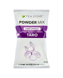 Tea Zone Taro Flavored Powder (New, made in USA) 2.2 lb Bag - 1 bag