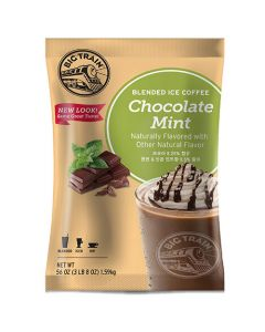 Big Train Blended Chocolate Mint Powder 3.5 lb Bag - 1 bag