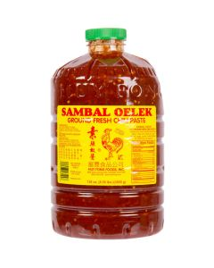 Huy Fong Sambal Oelek Chili Paste 136 oz (8.5lb) Jar - 1 jar