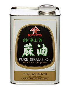 Kadoya Sesame Oil 56 oz Bottle - 1 bottle)