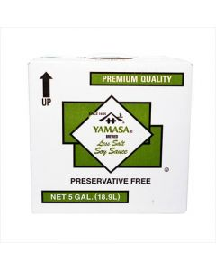 Yamasa Less Sodium Soy Sauce 5 Gallon Box - 1 case (1 box)