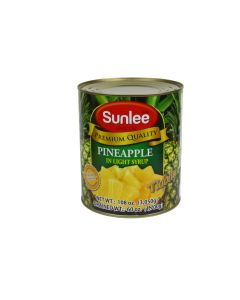 SUNLEE Pineapple Tidbits in Syrup 5 lb can - 6 can/cs