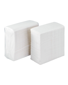 Karat White 1-Ply Tall Fold Napkin - 1 case (10000 piece)