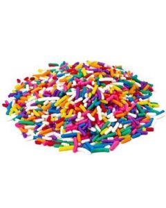 Generic Rainbow Sprinkles 10 lb - 1 case (1 case)