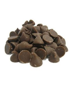 Bloomer Chocolate Co Carob Chips 2000 ct 10 lb - 1 case (1 Case)