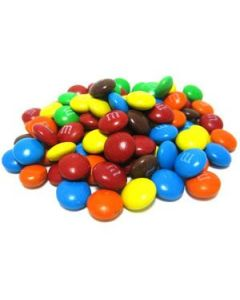 M&M Milk Mini Bits 25 lb Bag - 1 case (1 bag)