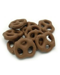 Generic Mini Chocolate Pretzels 15 lb Bag - 1 case (1 bag)