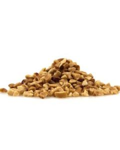 Generic Peanuts - Chopped/Diced - 10 lbs Bag - 1 case (1 bag)